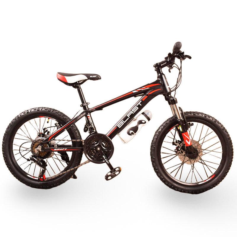 Горный подростковый Велосипед S300 BLAST-БЛАСТ 20'' Чёрно-Красный
