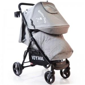 Детская коляска Quattro Porte QP-234 Grey