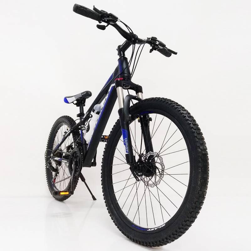 Горный подростковый Велосипед S300 BLAST-БЛАСТ 24'' Чёрно-Синий
