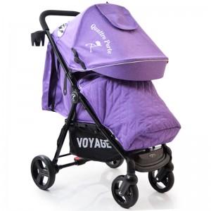 Дитяча коляска Quattro Porte QP-234 пурпурний