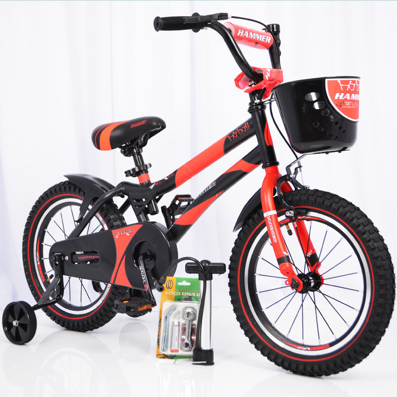 """Bicycle """"HAMMER-16"""" S500 red"""