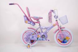 """Розовий Велосипед для девочки 14"""" ICE FROZEN Ледянное Сердце Анна и Эльза от 4 лет"""