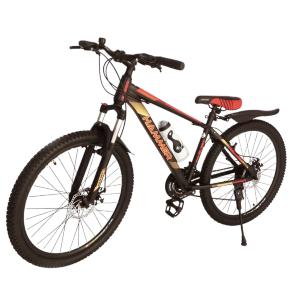 Гірський Підлітковий Велосипед S300 BLAST-БЛАСТ 26 ' ' чорно-помаранчевий