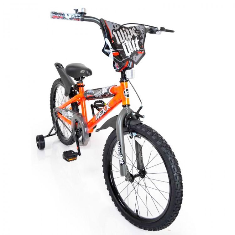 "Велосипед ""NEXX BOY-20"" помаранчевий сплеск"