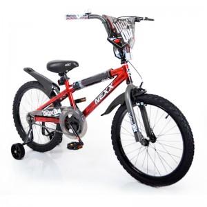 Велосипед NEXX BOY-20 червоний сплеск