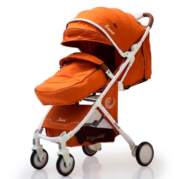 Дитяча коляска Smart model  D289 помаранчева