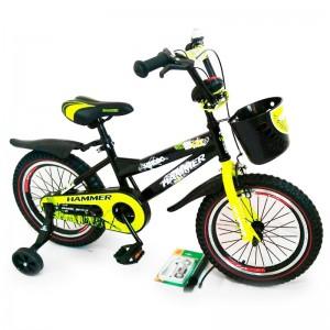 """Велосипед с ручкой """"HAMMER-16"""" S600 +Насос+Рем.коплект"""