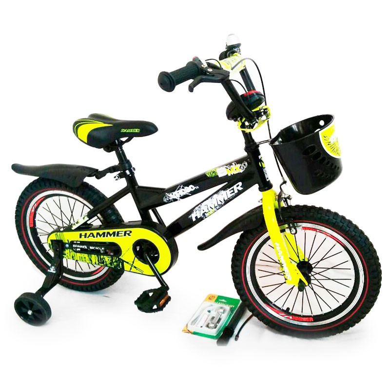 """Bicycle with handle """"HAMMER-16"""" S600"""