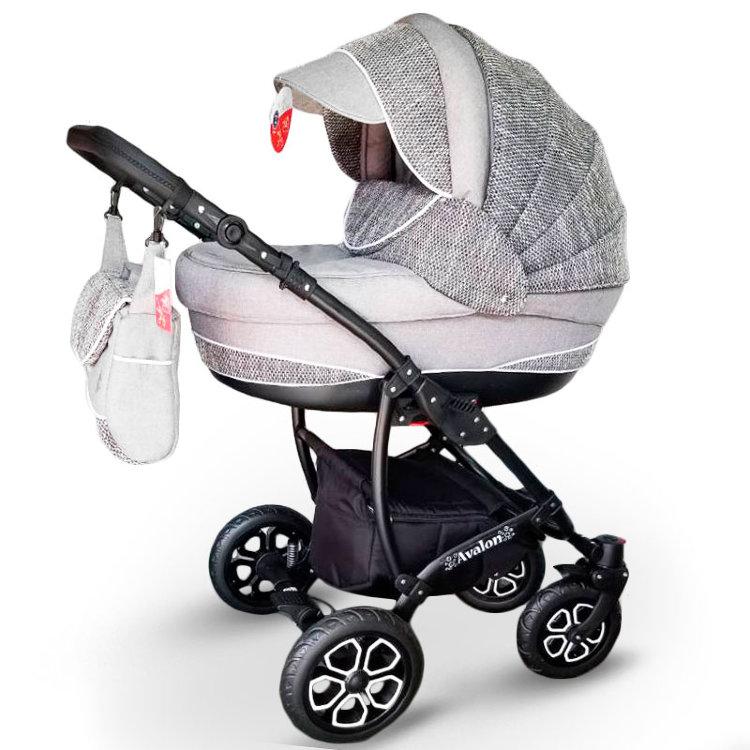 Дитяча коляска 2 в 1 Авалон еколеон