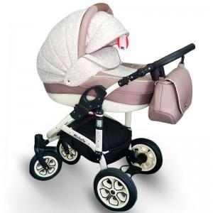"Детская коляска 2 в 1 ""Michelle"" White-Biege"