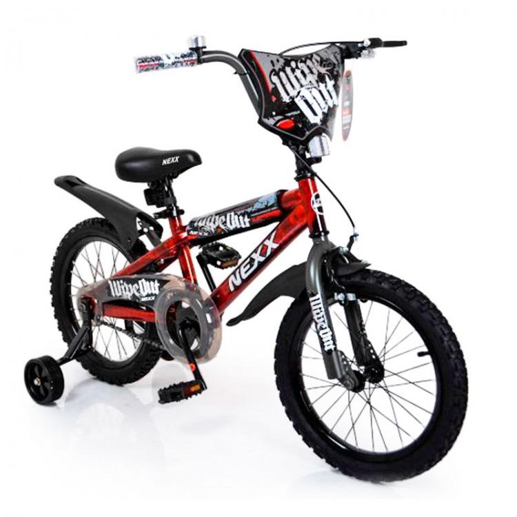 Велосипед NEXX BOY -16 Red Splash