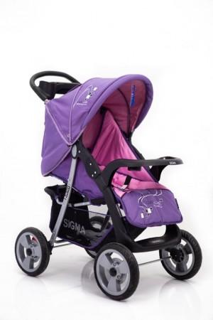 Дитячій візочок Sigma K-038F-2 Фіолетова