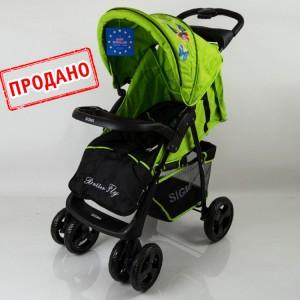 Детская коляска Sigma S-K-6F зеленая