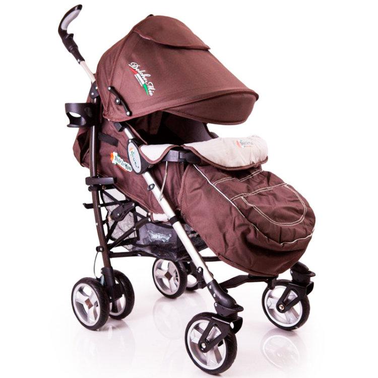Детская коляска трость DolcheMio-SH638APB коричневий