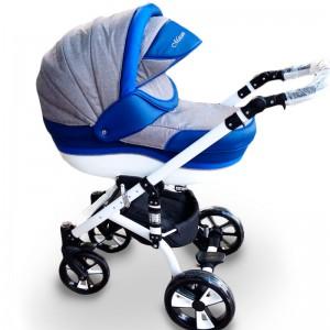 """Детская коляска 2 в 1 """"MACAN"""" Grey-Blue 2"""