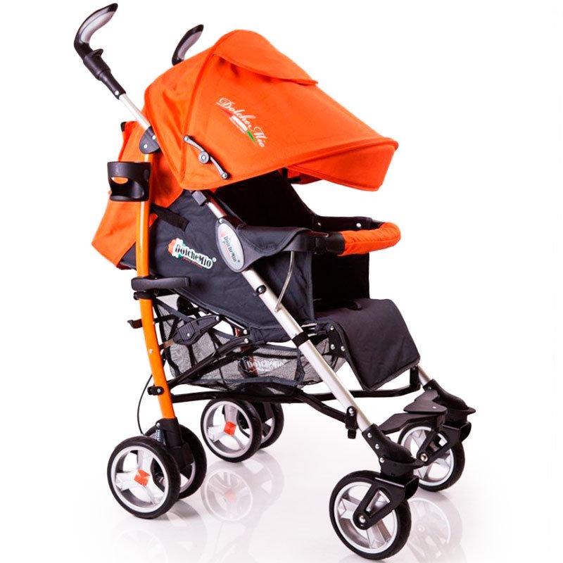 Детская коляска трость DolcheMio-SH638APB оранжевый