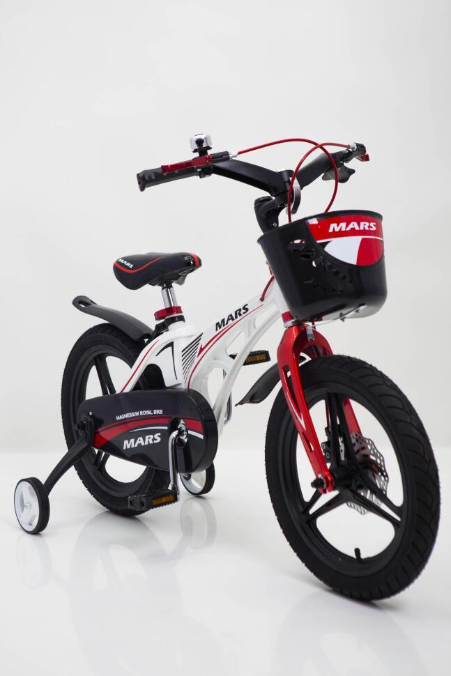 "Велосипед ""MARS-14"" White от 4 лет"