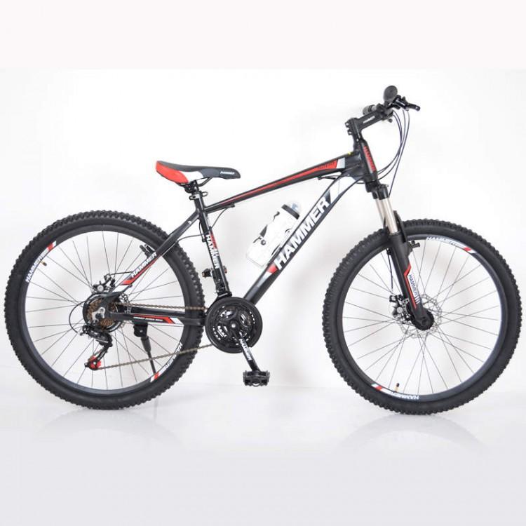 Гірський Велосипед HAMMER-26 чорно-червоний