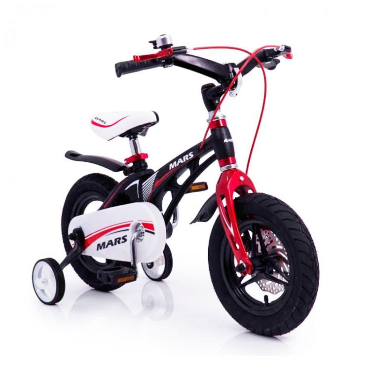 """Дитячий Велосипед """"Марс-12"""" чорний з 3 років"""