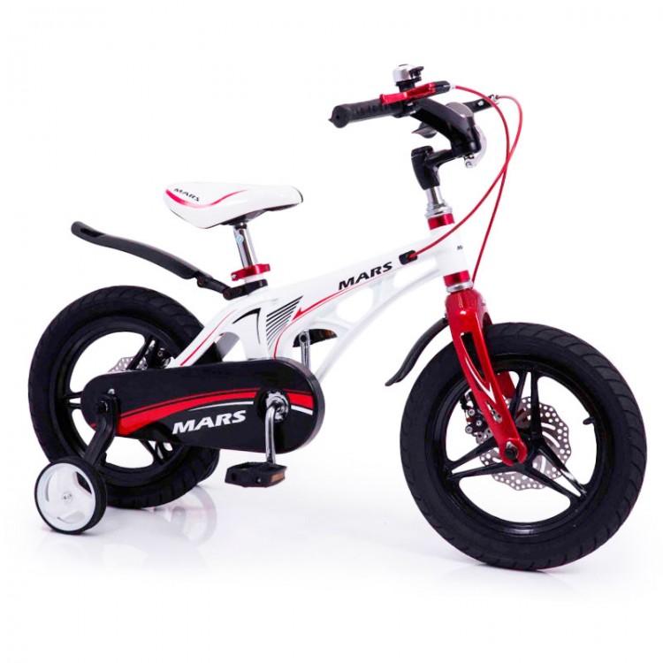 """Дитячий Велосипед """"Марс-12"""" білий від 3 років"""