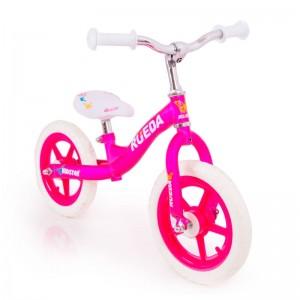 Біговел для дівчинки рожевий легкий алюмінієвий B-216 від 3 років