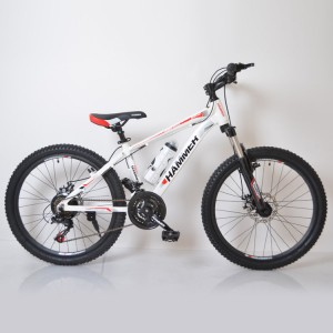 Горный подростковый Велосипед HAMMER-24  White Red