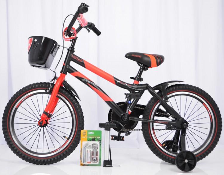 🎈HAMMER-18 S500 Дитячій велосипед для хлопчіка ХАМЕР-18 S500 с допоміжними колесами