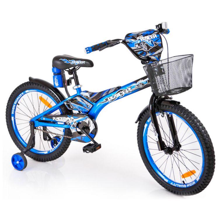 """Детский Велосипед """"Racer-18"""" дюймов Синий"""