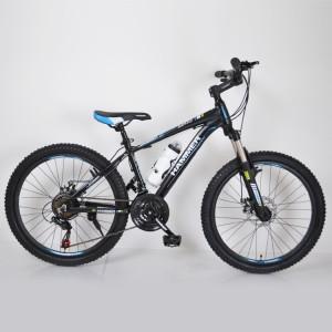 Горный подростковый Велосипед HAMMER-24 Black Blue