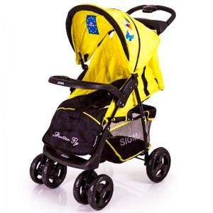 Детская коляска Sigma S-K-6F жёлтая