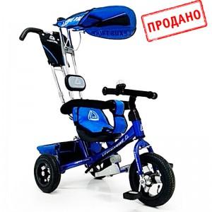 Триколісний велосипед WS-862AW 12 \ 10, синій