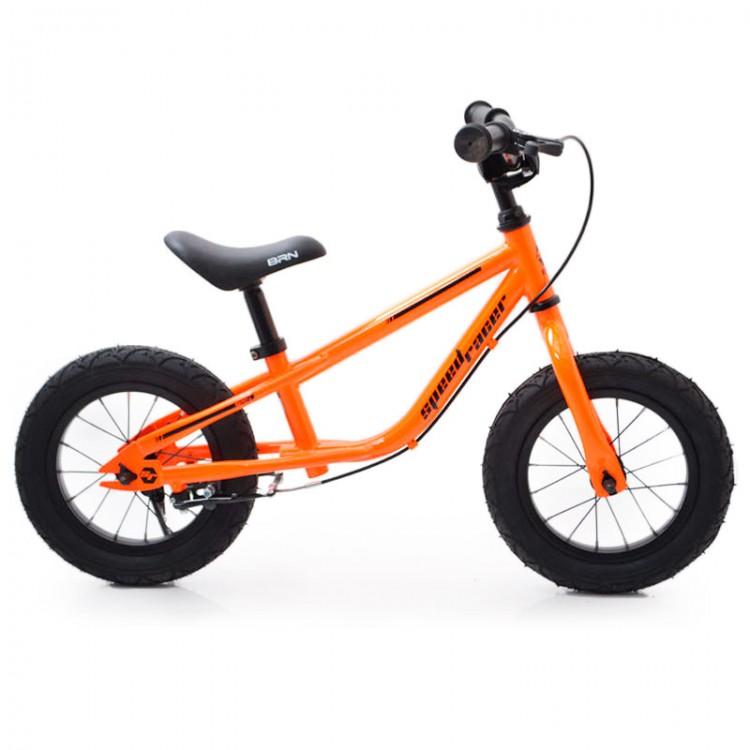 """Begovel 12 """"(BRN) B-2 помаранчевий надувні колеса"""