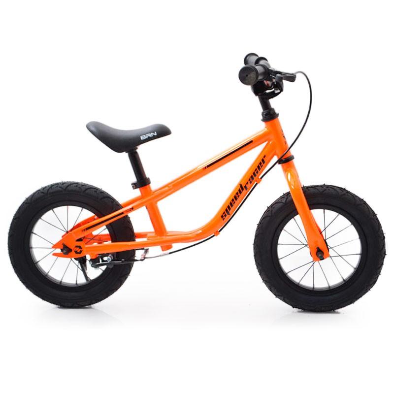"Беговел 12""(BRN)B-2 Orange Air wheels"