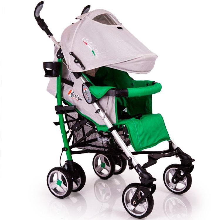 Детская коляска трость DolcheMio-SH638APB зеленая