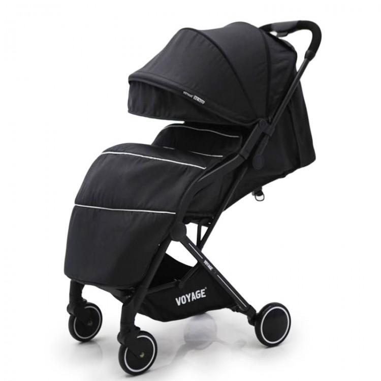 """Дитяча коляска """"Юйо"""" T3101F чорний чорний"""