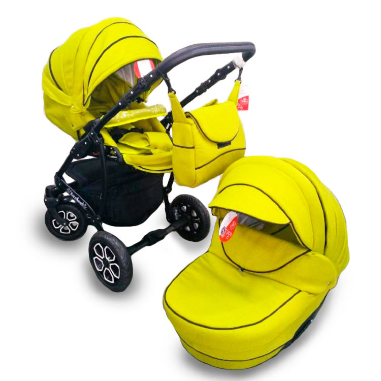 Дитяча коляска 2 в 1 Авалон світло-зелений