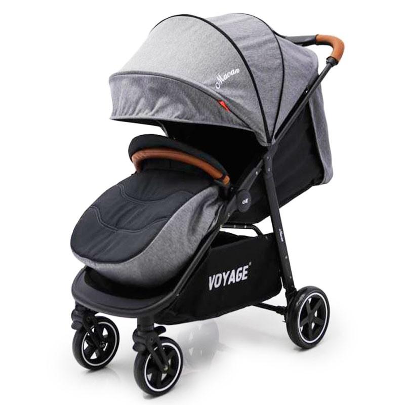 """Baby Stroller """"MACAN"""" T619F Grey Grey"""