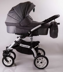 Детская коляска 2 в 1 Sherry Lux Gray