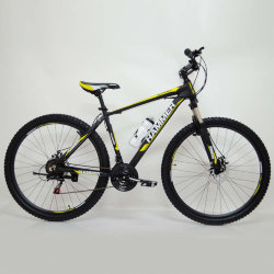 Велосипед HAMMER-29 Black-Yellow