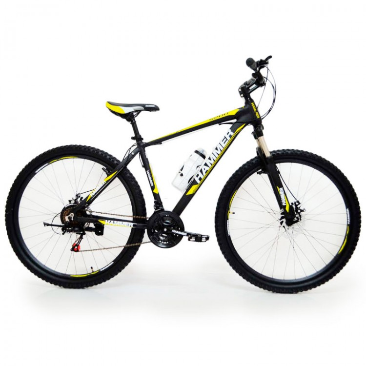 Велосипед HAMMER-29 чорно-жовті