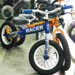 Беговел Racer BA14-04 синий