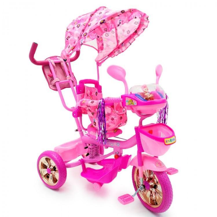 Велосипед триколісний WS-828R-2 (NP) Girl