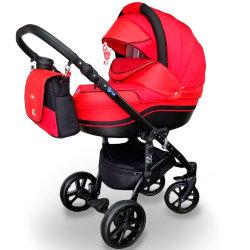 """Детская коляска 2 в 1 """"MACAN"""" Red"""