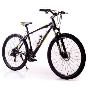 Велосипед HAMMER-29 чорний зелений