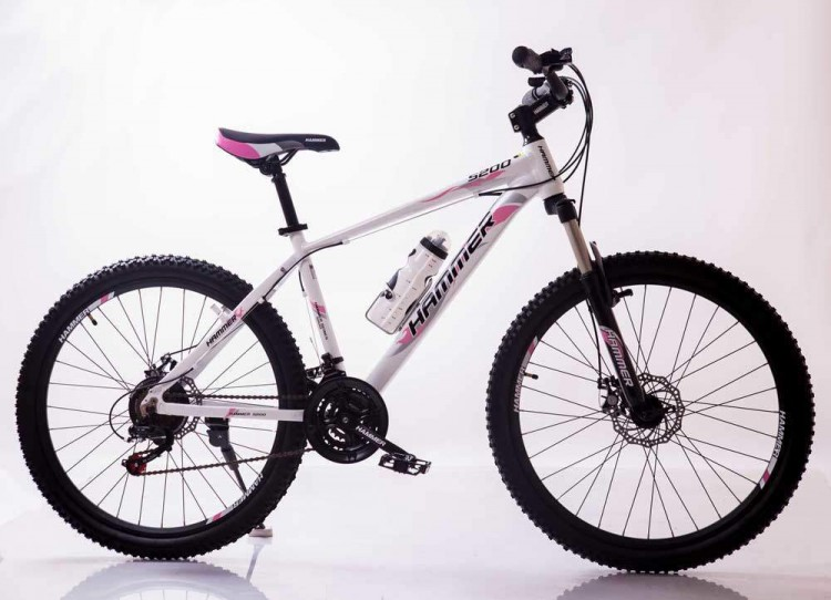 Горный Велосипед HAMMER-26 White-Pink