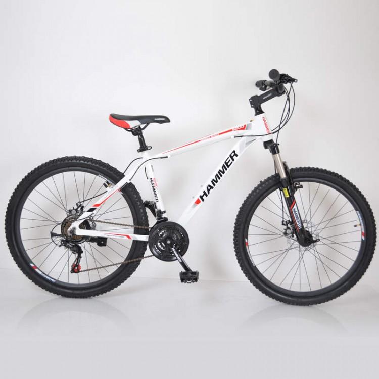 Горный Велосипед HAMMER-26 White-Red