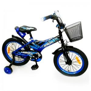 """Детский велосипед Велосипед """"Racer-16"""" дюймов Синий"""
