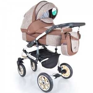 Детская коляска 2 в 1 Sherry Lux Brown