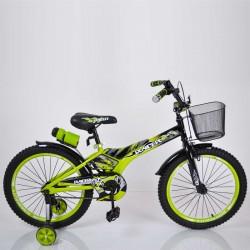 """Детский Велосипед """"Racer-18"""" дюймов Зеленый"""
