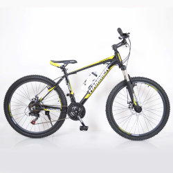 Велосипед HAMMER-24 Black-Yellow
